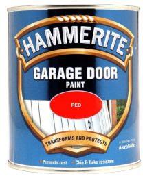 Hammerite 5092852 750ml Garage Door Paint - Red