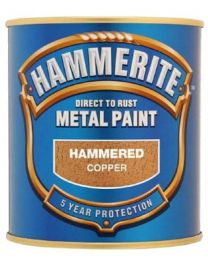 Hammerite 5084822 Metal Paint: Hammered Copper 250ml
