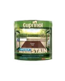 Cuprinol 2.5L Anti Slip Decking Stain Cedar Fall