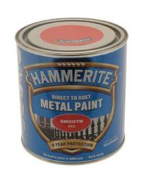 Hammerite 5084869 HAM6722101 250ml Metal Paint - Smooth Red