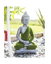 La Hacienda Flocked Buddha