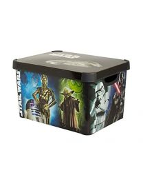Genuine Lakeland Star Wars, Sturdy Lidded Storage Box (22 Litre)