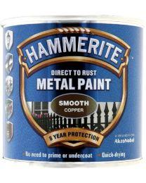 Hammerite 5092932 Metal Paint: Smooth Copper 250ml