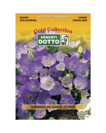 Bellflower Blue (Campanula Carpatica) - Gold Seeds By Sementi Dotto 0.45gr