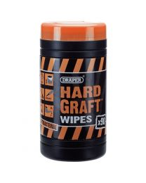 Draper 'Hard Graft' Wipes (Tub of 90)