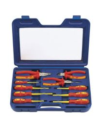 Draper Fully Insulated Pliers and Screwdriver Set (10 Piece)