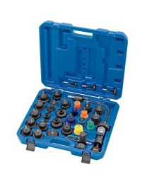 Draper Radiator and Cap Pressure Test Kit (33 Piece)